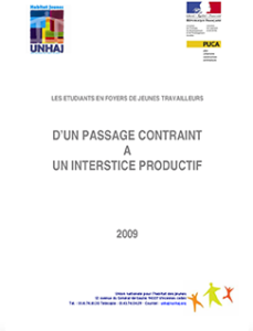 D'UN PASSAGE CONTRAINT A UN INTERSTICE PRODUCTIF